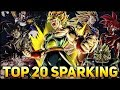 NEW UPDATE! THE TOP 20 MOST PLAYED SPARKINGS! + TONS OF FREE CRYSTALS! Dragon Ball Legends