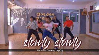 SLOWLY SLOWLY   guru randhawa ft. pitbull   Dance Choreography   Dinesh Deo   Golden Steppers