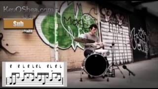 Free Drum Lessons | Jojo Mayer - Kick Snare Hat 01