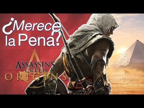 ¿Merece la pena Assassin's Creed: Origins?