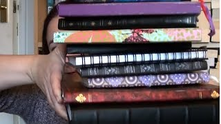 Journals: My Completed Journal Collection