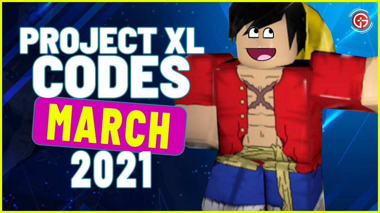 Project XL All 20 Working codes 20 March   Roblox Project XL Codes