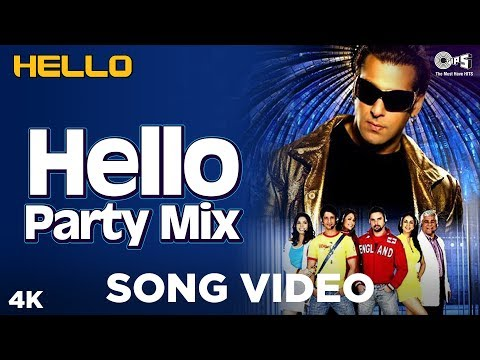 Hello Hello (Party Mix) Song Video - Hello | Salman Khan | Wajid Khan, Suzi Q, Ishq Bector