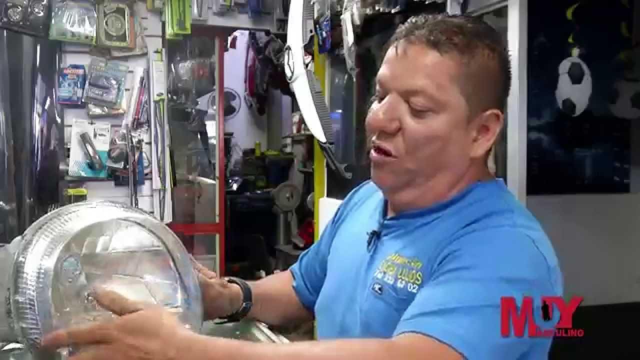 C mo reparar la superficie reflectiva de una farola youtube - Como reparar una vitroceramica ...
