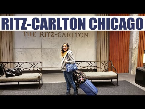 Ritz Carlton - Chicago:  Renovated Room And Hotel Tour