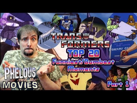 Transformers Top 20 Funniest Dumbest Moments Part 1 - Phelous
