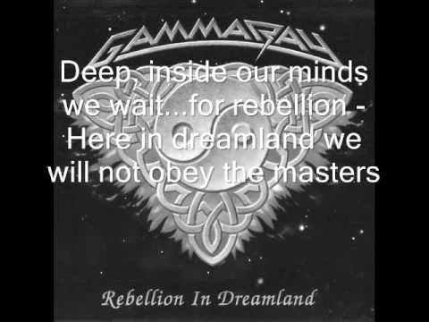 Rebellion In Dreamland - Gamma Ray Karaoke