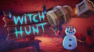 The Sneakiest Snow Man - Special Prop Hunt!! (Witch Hunt Game / Gameplay)