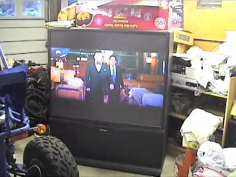 60 projection tv mitsubishi - YouTube