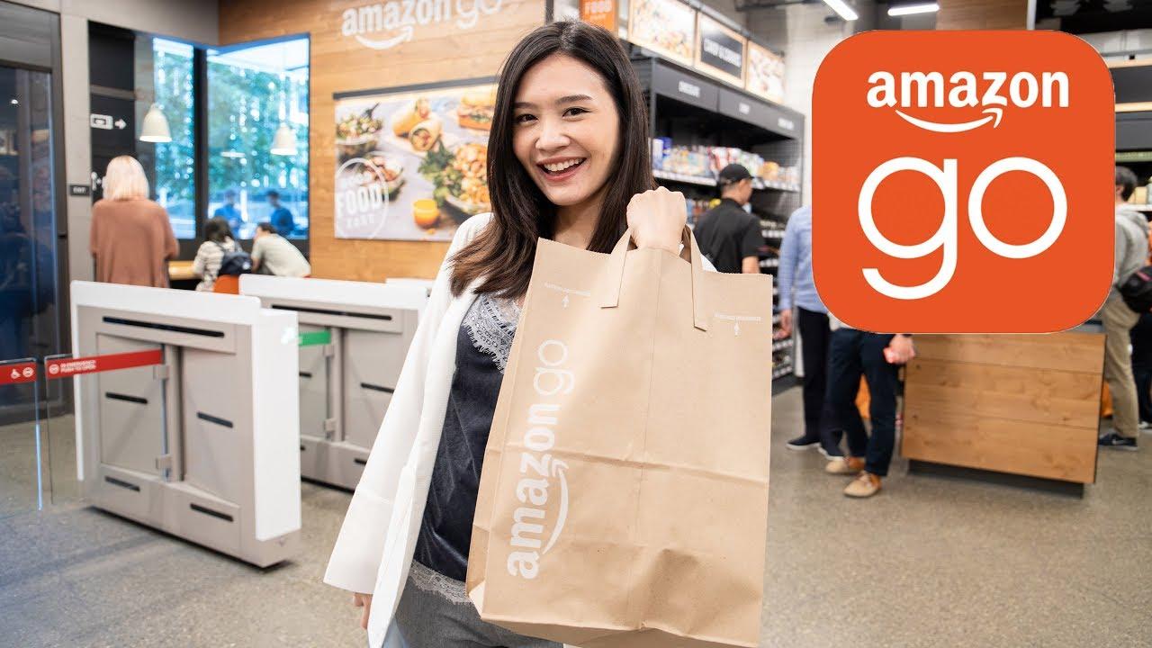 [spin9] ซู่ชิงพาไปช้อปปิ้งที่ Amazon Go แค่หยิบของ ก็เดินออกจากร้านได้เลย