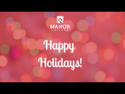 Merry Christmas from Manor College!