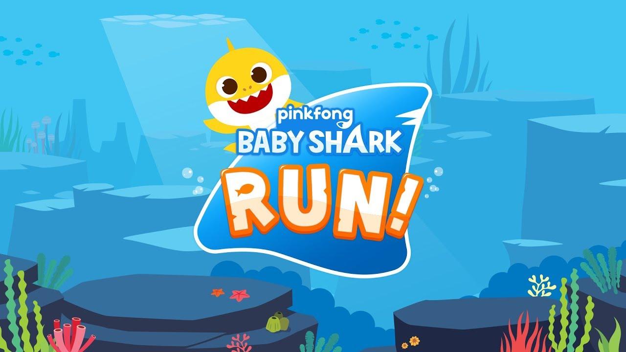 App Trailer] Baby Shark RUN! - YouTube