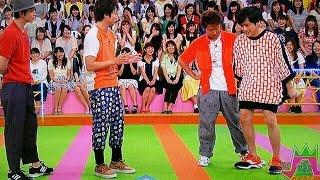 VS嵐  9月8日 160908 田臥勇太率いるバスケットボール日本代表選手と本気のバスケ対決!