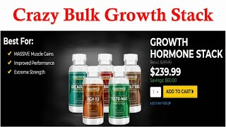 Crazy Bulk Growth Stack - The Ultimate Crazy Bulk Growth Hormone Stack Review 2018