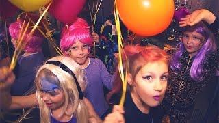 Съемки видеоклипа: детский праздник 8 лет