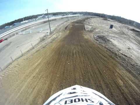 Englishtown Raceway Park MX Race Track 3/30/16