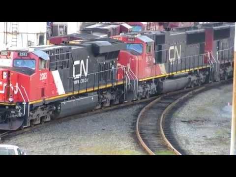 Port Coquitlam Yard CN & CP !!