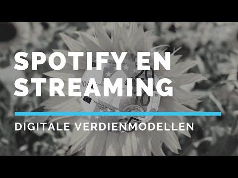 Verdienen op de digitale markt: Spotify en andere streamingplatformen