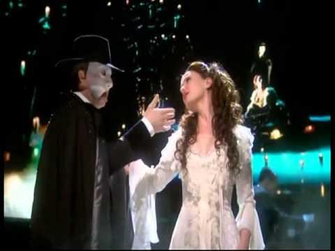 John Owen Jones and Sierra Boggess  The Phantom of the Opera Olivier Awards 2011