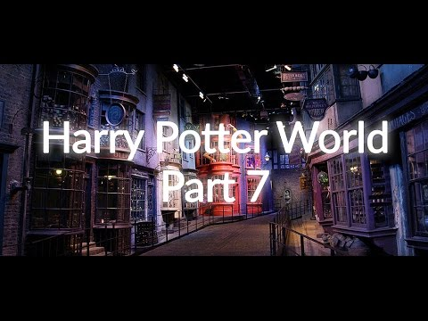 Harry Potter World Part 7  - Warner Brothers Studios