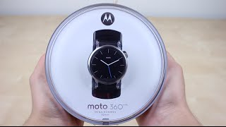 Moto 360 (2nd Gen) Unboxing!(Moto 360 (2nd Gen) unboxing! This is Motorola's new smart watch for 2015! I went with the base model ($300), which is 42 mm in size, has chamfered edges, ..., 2015-09-26T17:40:33.000Z)