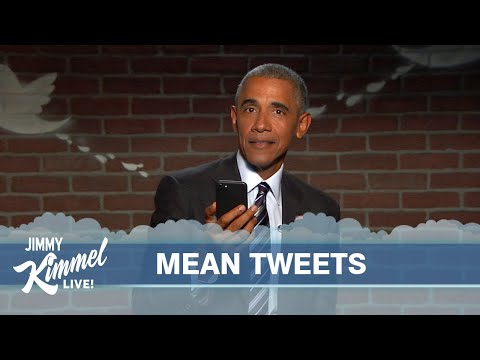 Mean Tweets - President Obama Edition #2