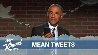 Repeat youtube video Mean Tweets - President Obama Edition #2
