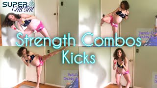 tabata strength cardio combos and kicks with light weights 35 minute workout
