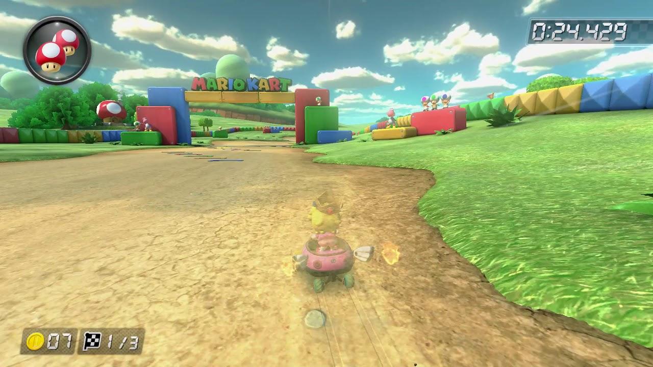 SNES Donut Plains 3 [150cc] - 1:14.127 - Braydon (Mario Kart 8 Deluxe World Record)