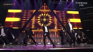 2017-11-15 Super Junior - Black Suit live Asia Artist Awards AAA