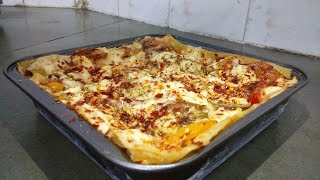 Lasagna - without oven  Vegetable Lasagna