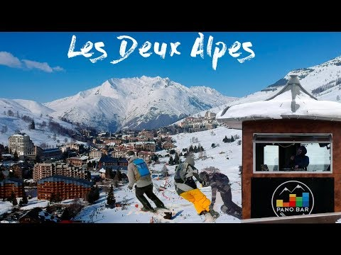 Skiing in Les Deux Alpes