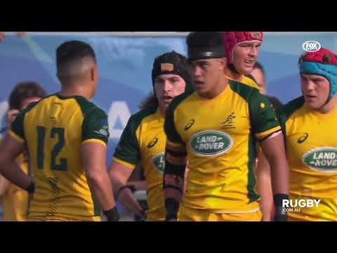 World Rugby U20s Championship Final: Junior Wallabies vs France