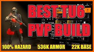The Division 2 | My Best PVP Build In TU6 | Massive Damage High Survivability