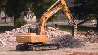 Heavy Equipment - John Deere and Hatachi Excavators