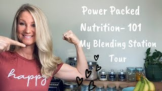 Healthy lifestyle & weight loss tips - how to get better nutrition and set up for blending success!