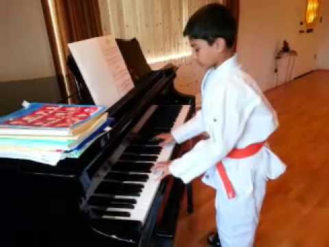 Judo+piano= class