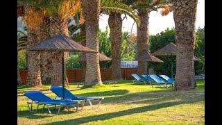 Marilena Hotel 4 Марилена отель Греция Крит Амудара обзор отеля территория пляж