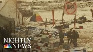 Arrests At Standing Rock As Protesters' Eviction Deadline Passes   NBC Nightly News