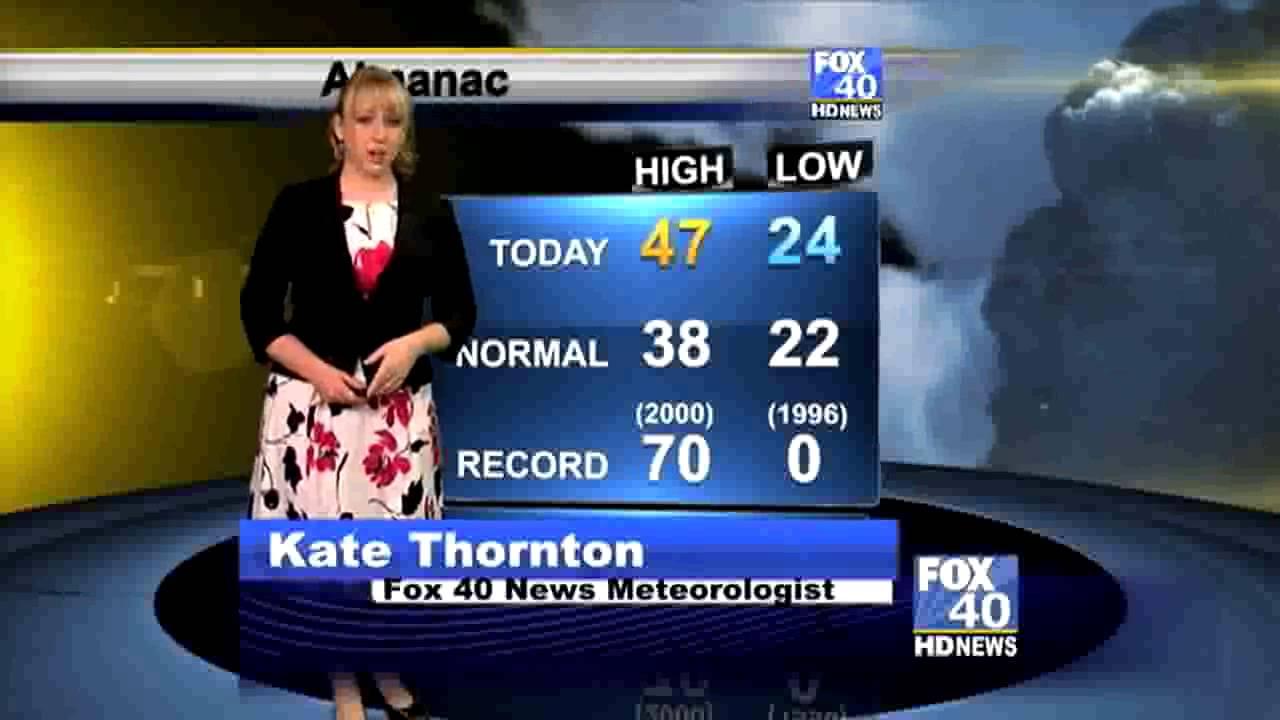 kate thornton weather resume reel youtube