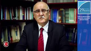 Prof. Dr. İlyas Çelebi - President Of The Department Of Foundational Islamic Studies