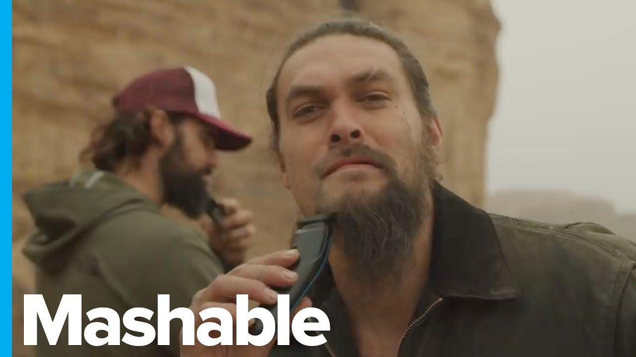 Jason Momoa Shaves His Beard Goodbye Drogo