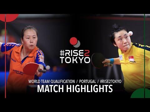 Li Jiao Vs Feng Tianwei | 2020 World Team Qualification (R16)
