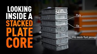 homepage tile video photo for What's inside a stacked plate transmission cooler?