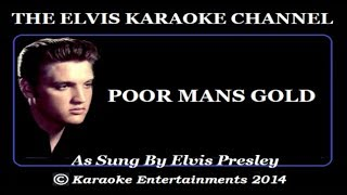 Elvis Presley Tribute Poor Mans Gold Vocal