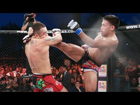 Kevin Natividad vs Irwin Rivera (English) Full Fight | MMA | Combate 13