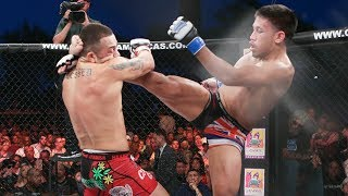 """Kevin 'quicksand"""" natividad and irwin """"the beast"""" rivera entered #lajaula ready to put on a show. relive all the action here from their battle. #combateamer..."""