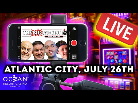 💯 Atlantic City Ocean Casino Live Slot And Pokie Play ‼️ The Big Jackpot   The Big Jackpot