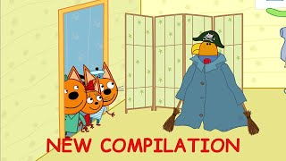 Kid-E-Cats   Funny Episodes Compilation   Cartoons for Kids 2021