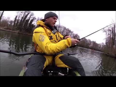 River pike on the kayak 14/02/2015